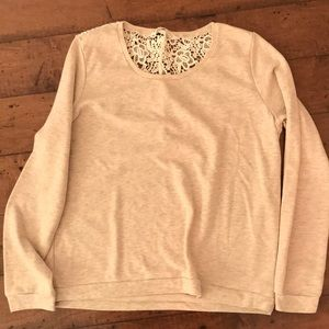 Bluenotes tan sweater